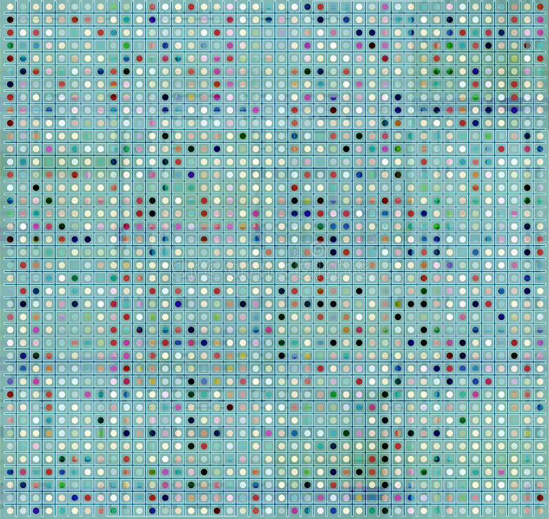 Technical Grid Background  Square Grid Background  Pattern
