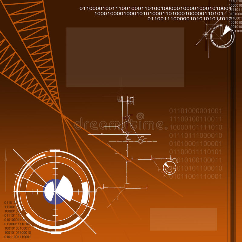 Download Technical project stock illustration. Illustration of architect - 28815798