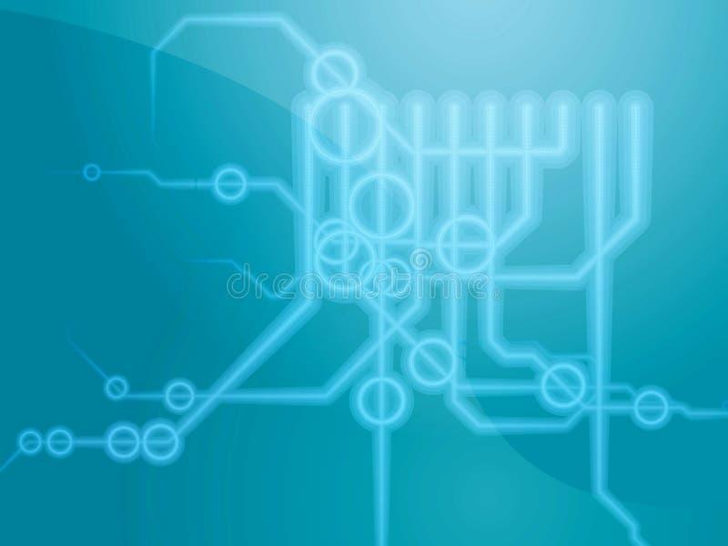 Technical schematics royalty free illustration