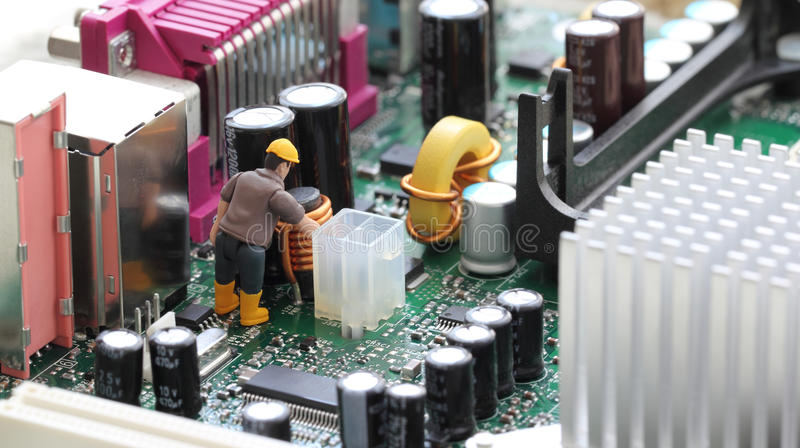 Technical Support stock image