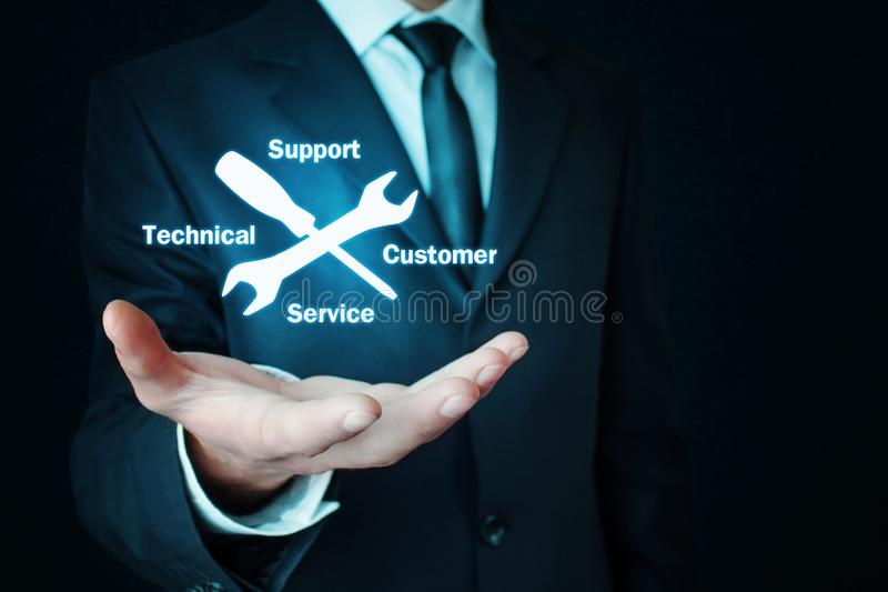 Technical Support Customer Service stock photography