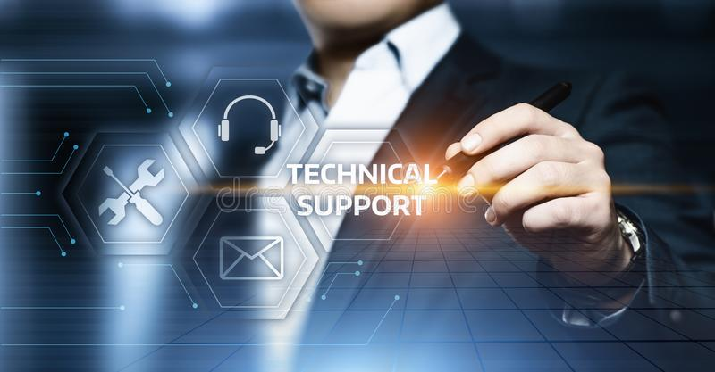 Technical Support Customer Service Business Technology Internet Concept.  stock photography