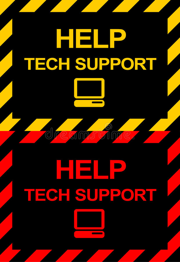 Download Technical Support Symbols stock illustration. Illustration of illustration - 6479982