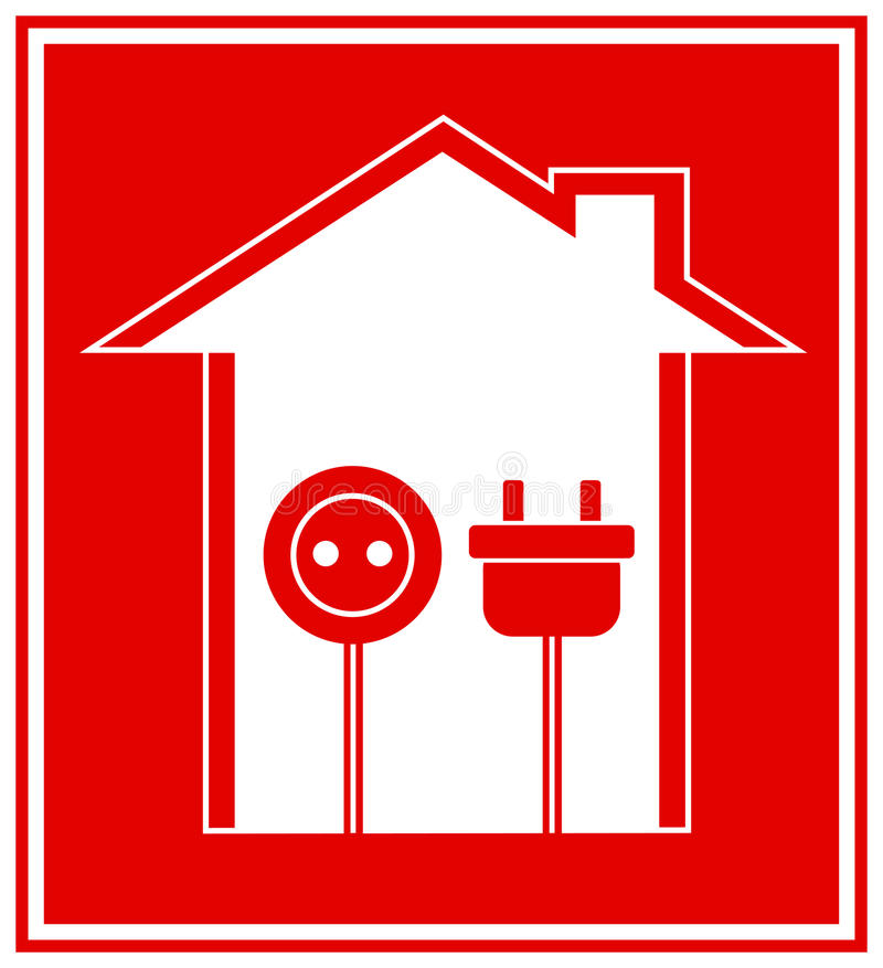 Technical symbol of electricity