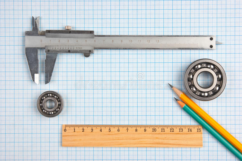 Technical Tools Royalty Free Stock Images