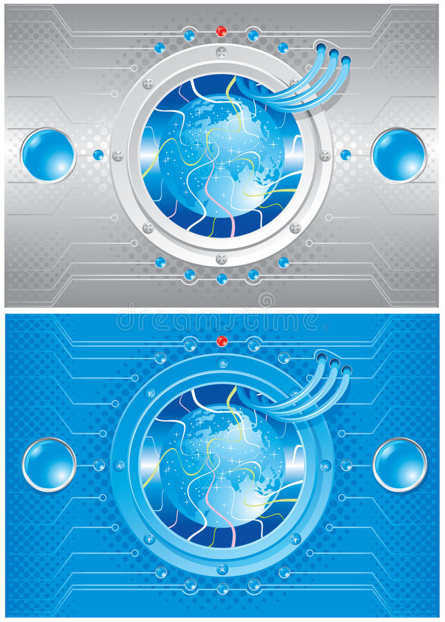 Technical World Royalty Free Stock Photo