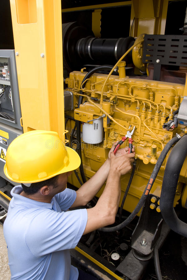 Technician royalty free stock image