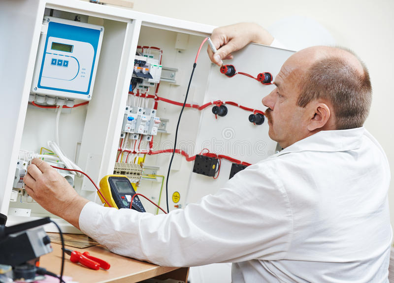 Download Technician Engineer At Work Stock Photo - Image of industry, service: 33445366