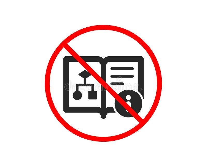 Techniczna algorytm ikona Projekt dokumentaci znak wektor ilustracja wektor