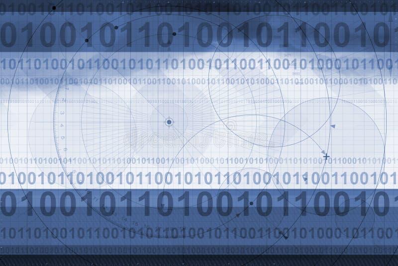 techniczny tło ilustracji