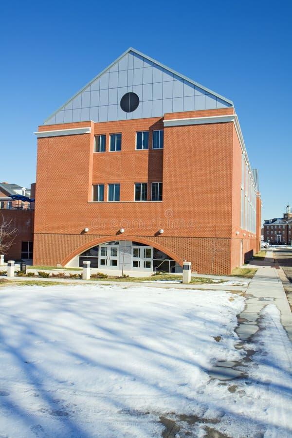 Technik-Gebäude auf dem Campus von einem historischen lizenzfreie stockfotografie