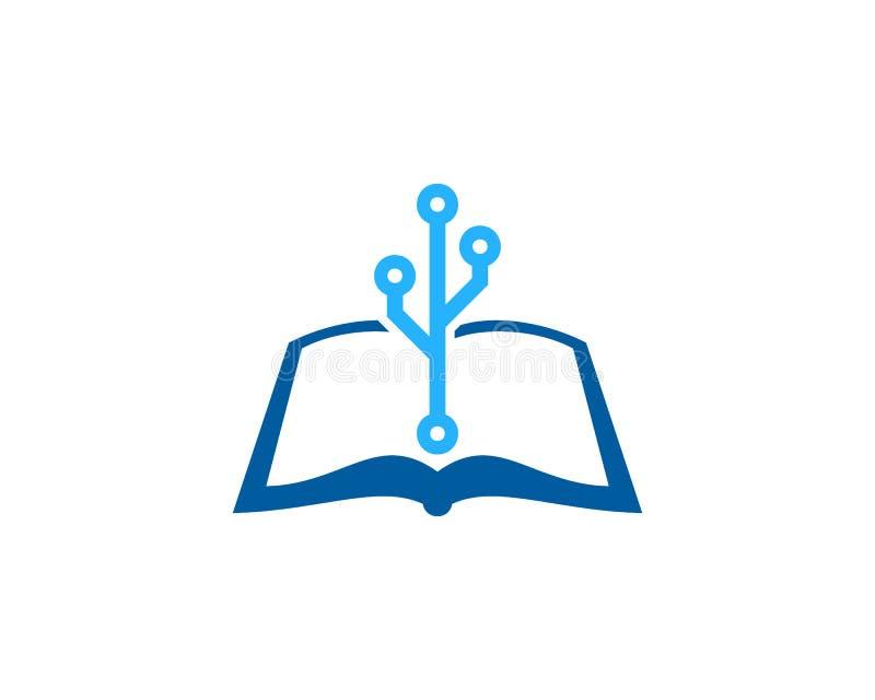 Technika loga ikony Książkowy projekt royalty ilustracja