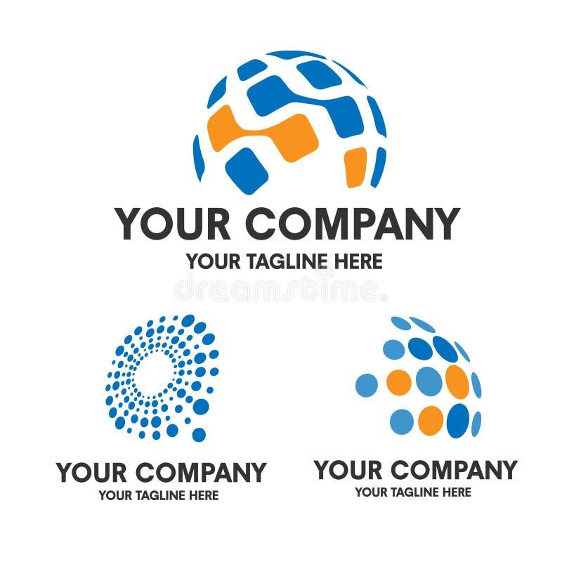 Technika logo obrazy royalty free