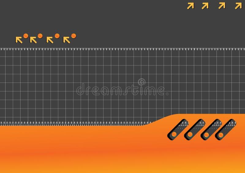 technika tło ilustracja wektor