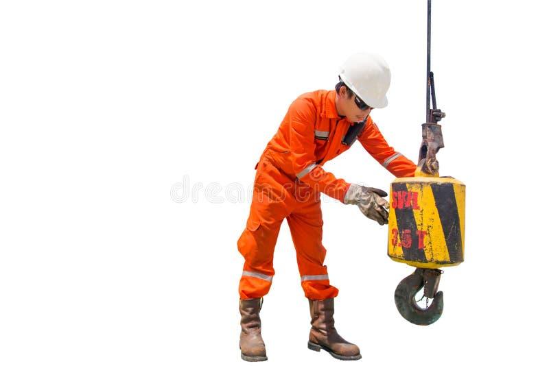 Techniker-Crane-Inspektor stockbild