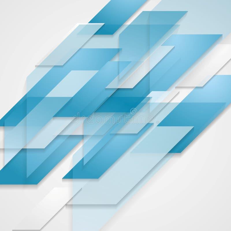 Techniki korporacyjny abstrakcjonistyczny tło ilustracja wektor