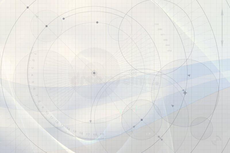 Technische Achtergrond vector illustratie