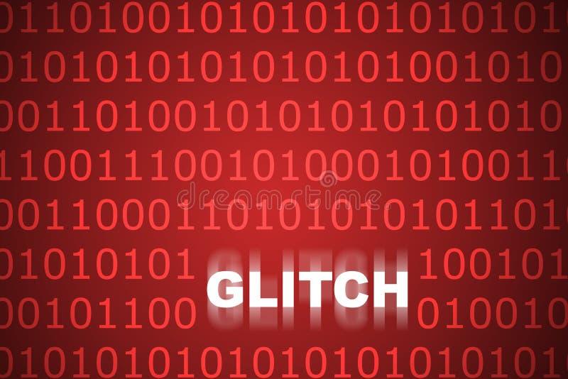 Technische Glitch Abstracte Achtergrond vector illustratie