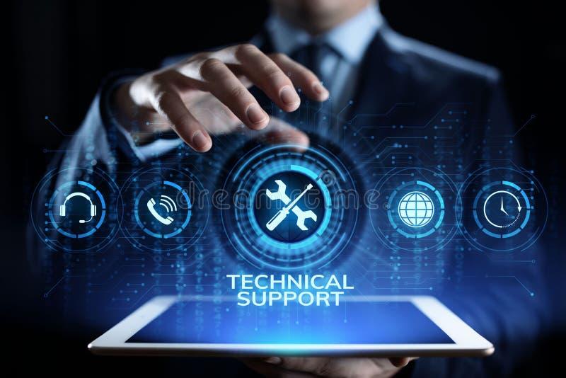 Technische Stützkundendienst-Garantie-Qualitätssicherungskonzept stockfotografie