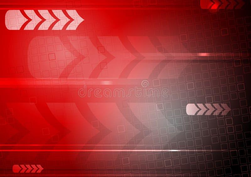 Technischer Hintergrund stock abbildung