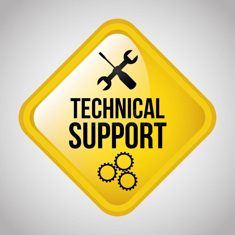 Technischer Support vektor abbildung