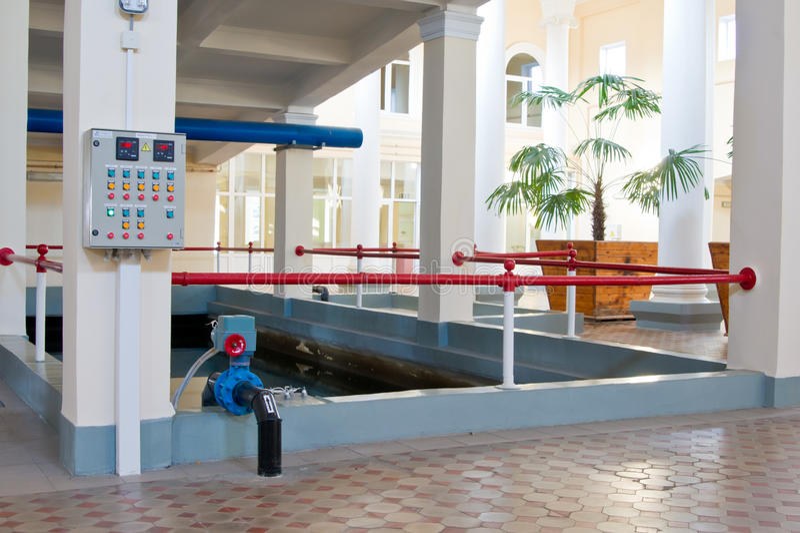 Technisches Pool stockfoto