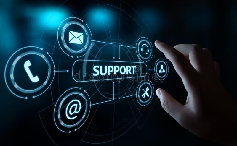 Technisches Support Center-Kundendienst-Internet-Geschäfts-Technologie-Konzept lizenzfreie stockfotografie