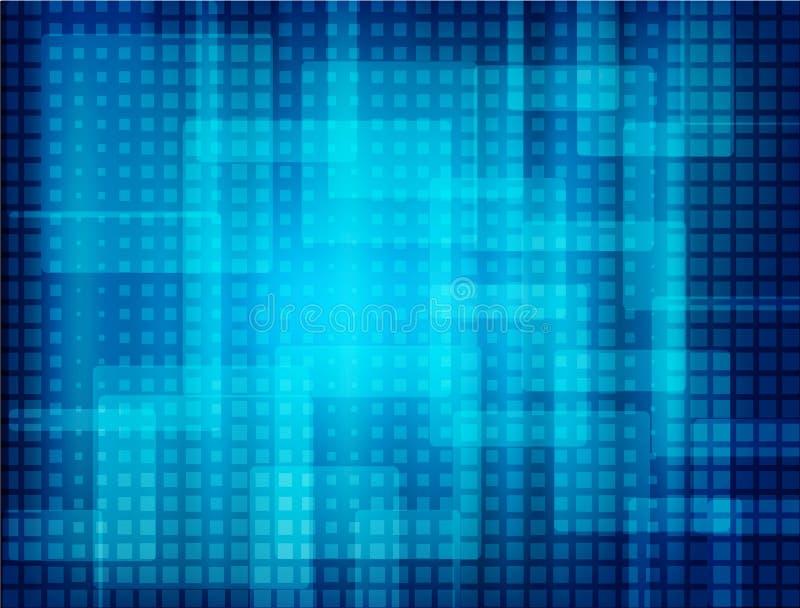 Techno网背景 库存例证