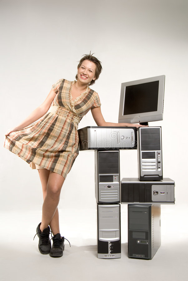 Download Techno για να χαιρετίσει τον κόσμο Στοκ Εικόνα - εικόνα από ευτυχία, γραφείο: 2229133