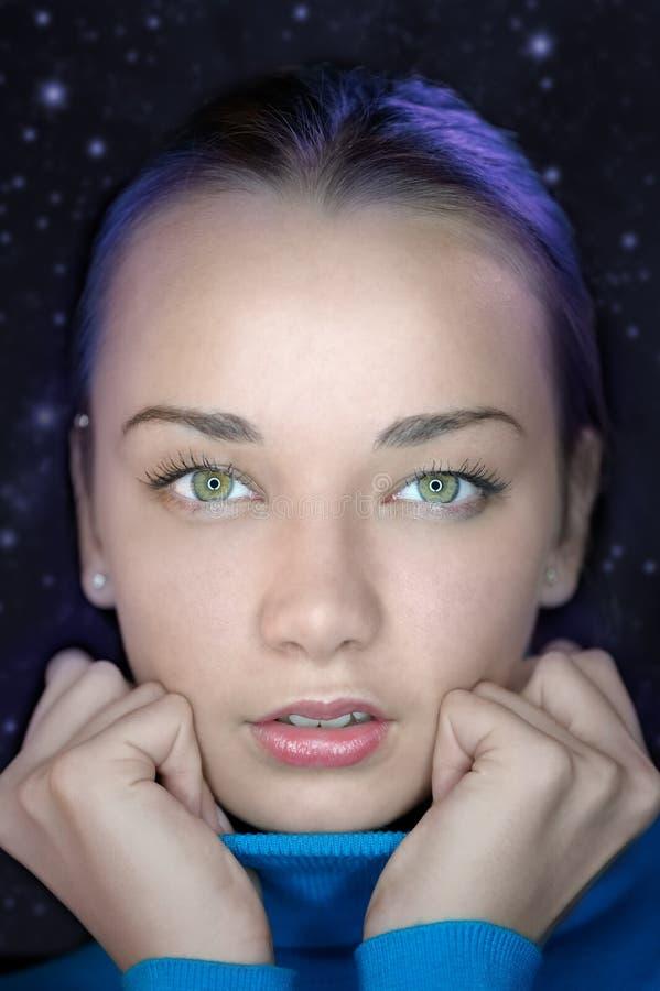 techno πορτρέτου στοκ εικόνες
