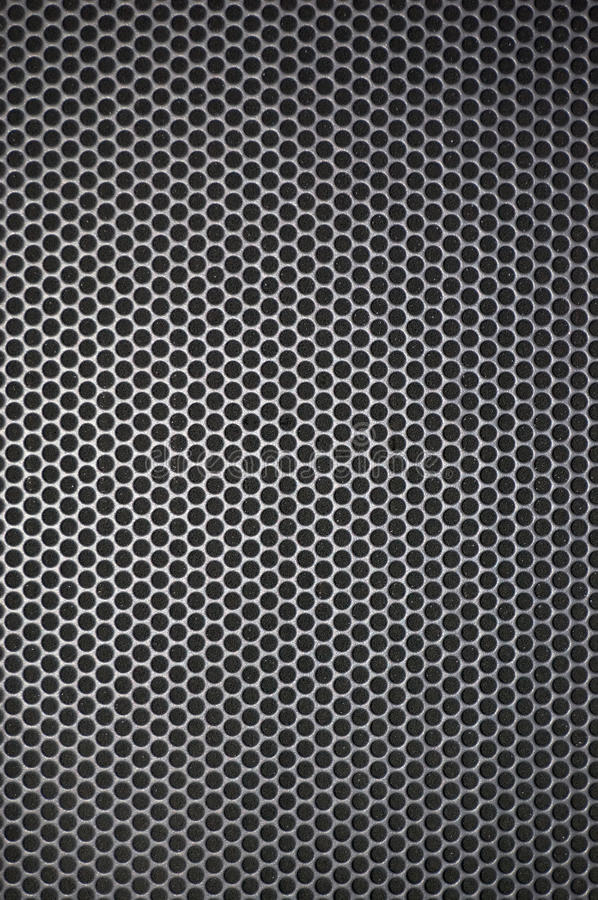 Techno background. With round perforations stock photo