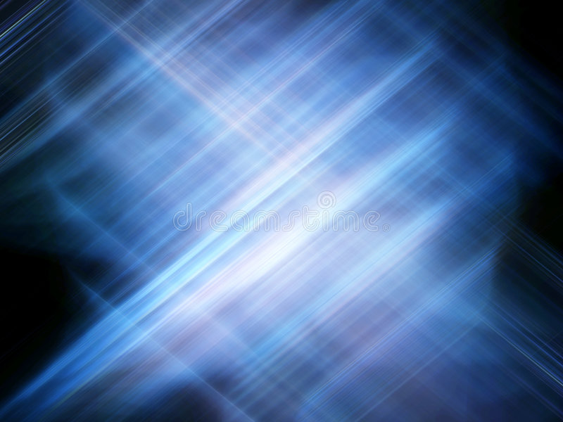 Techno blue royalty free stock photography