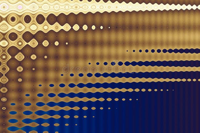 Techno brown on blue stock photo