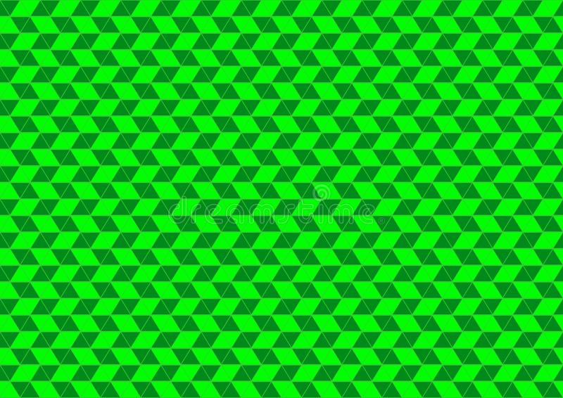 Download Techno Geometric Oriental Ornamental In Neon Green Colour Seamless Pattern Background Wallpaper Stock Illustration