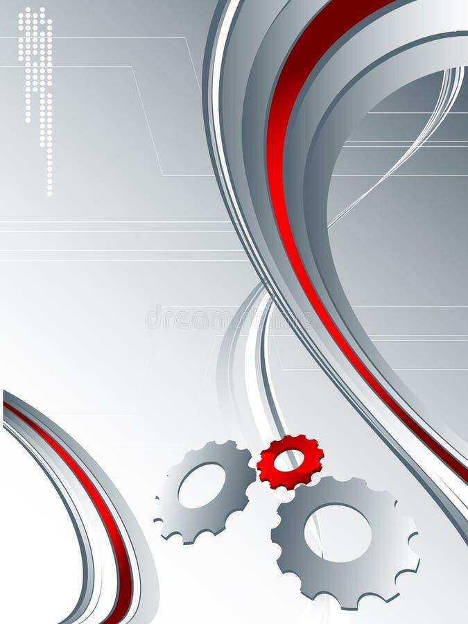 Techno Hintergrund lizenzfreie abbildung