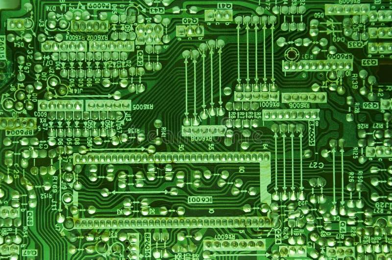Techno Hintergrund stockbilder