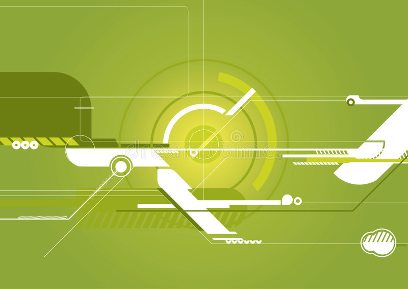 Techno Hintergrund vektor abbildung