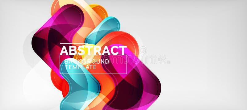 Techno linjer, högteknologisk futuristisk abstrakt bakgrundsmall med pilformer vektor illustrationer