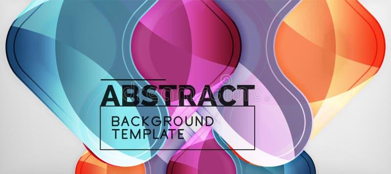 Techno linjer, högteknologisk futuristisk abstrakt bakgrundsmall med pilformer royaltyfri illustrationer