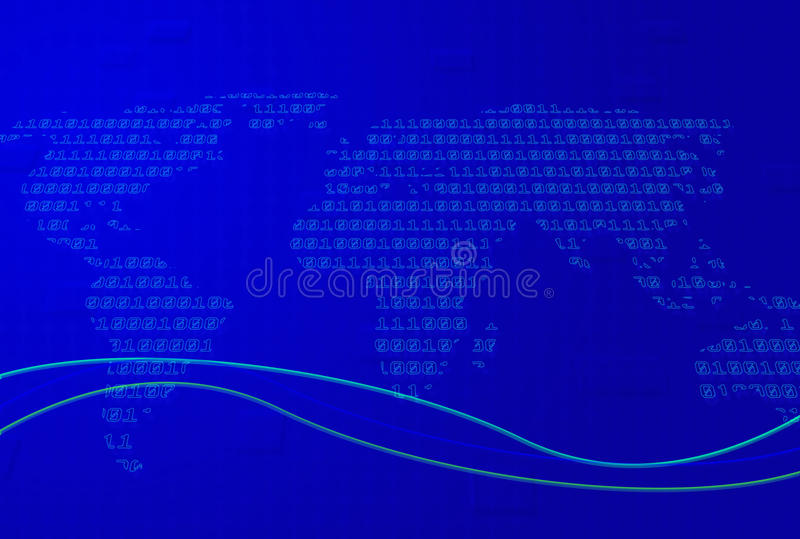 Download Techno Map stock illustration. Image of artistic, future - 11647449