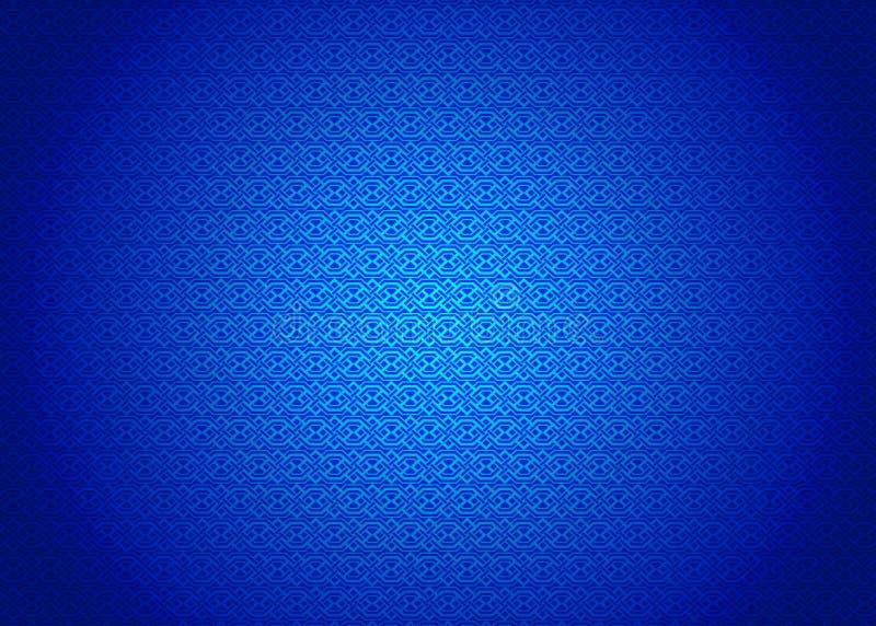 Techno, Orientale, Ornamental, Chinese, Arabisch, islamischer, blauer Muster-Beschaffenheits-Hintergrund Imlek, Ramadan, Festival stockfotos