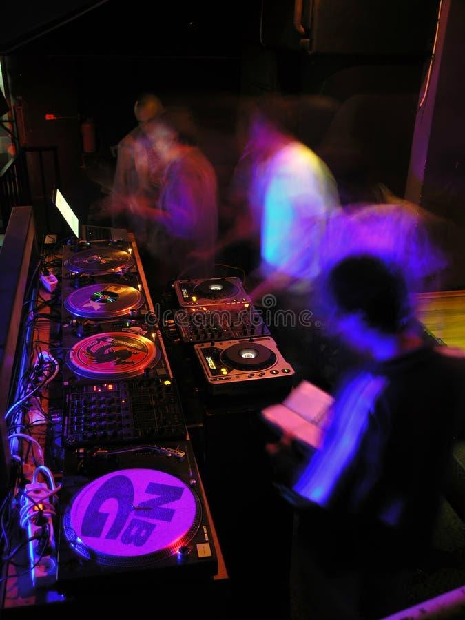 Techno Party stockbild