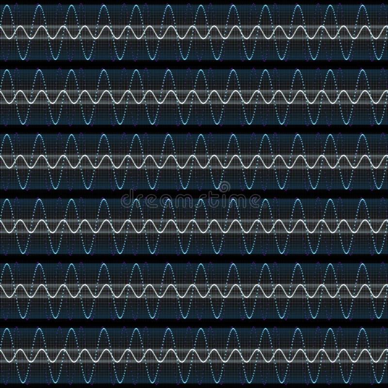 Download Techno soundwaves stock illustration. Illustration of material - 7972075