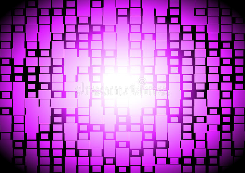 Techno squared space lighted stock images