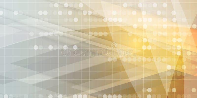 Technologia cyfrowa świat Biznesowy wirtualny pojęcie Wektorowy backg ilustracja wektor