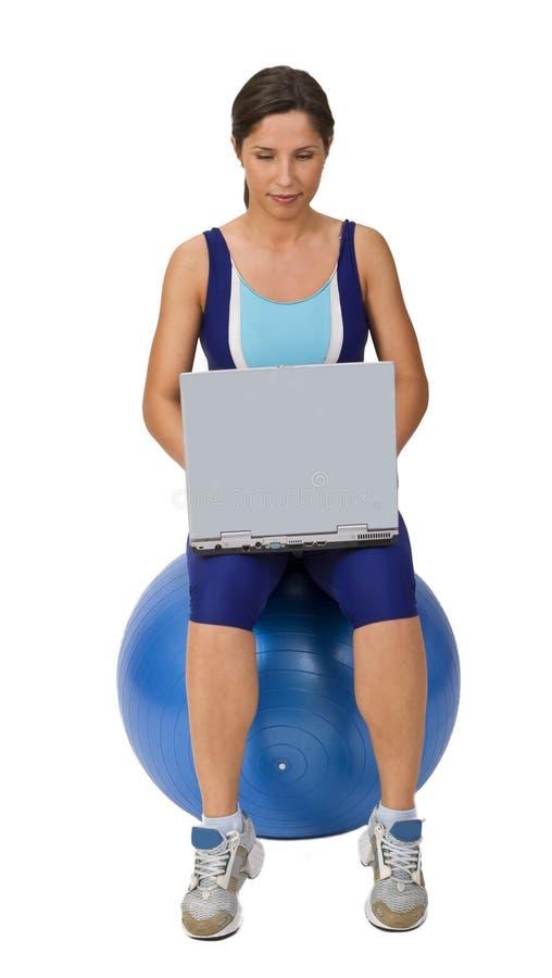 technologia fizycznej fitness obrazy royalty free