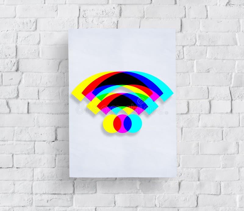 Technologia gadżetu ikon znaków Podaniowy pojęcie fotografia royalty free