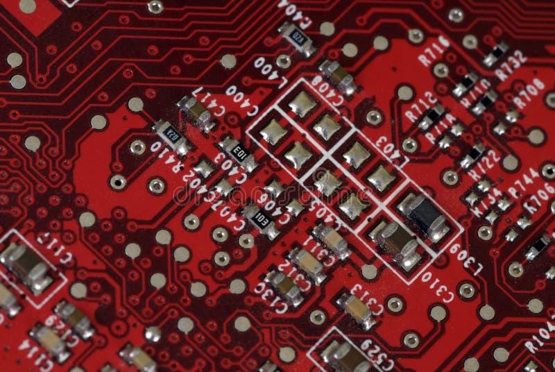 technologia grafiki karty obrazy stock
