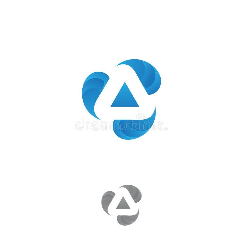 Technologia listu A pojęcia projekta biznesowy korporacyjny wektorowy symbol ilustracja wektor