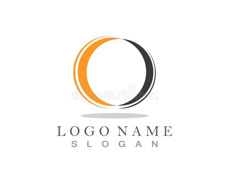 Technologia okręgu logo i symbole Wektorowi zdjęcia royalty free